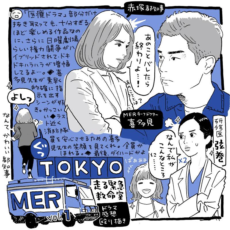 TOKYO MER 走る緊急救命室_第1話